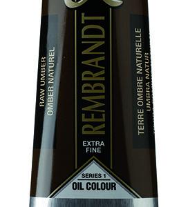 Remb. Olie 408 Raw Umber - 150 ml