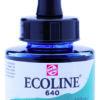 Talens Ecoline 640 Bluish Green - 30 ml