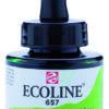 Talens Ecoline 657 Bronze Green - 30 ml