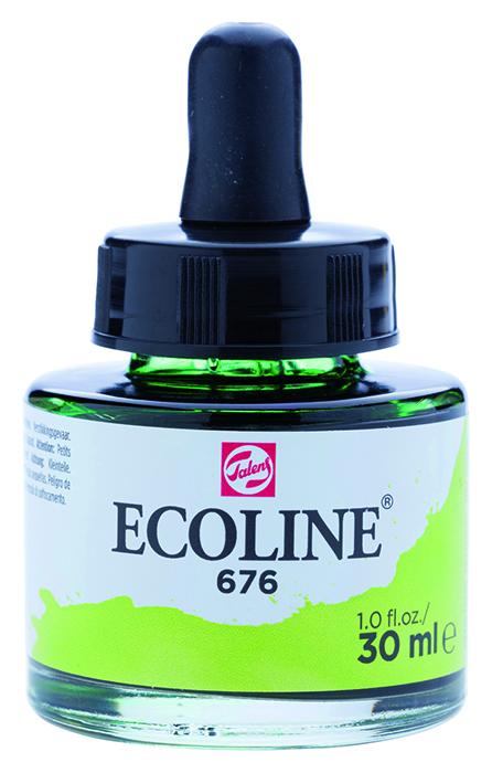 Talens Ecoline 676 Grass Green - 30 ml
