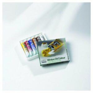 Winton Oil Colour Tube Set 6 x 21 ml