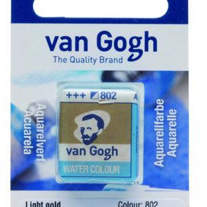 Van Gogh Akvarel 802 Light Gold - Pan
