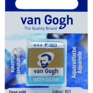Van Gogh Akvarel 803 Deep Gold - Pan