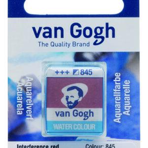 Van Gogh Akvarel 845 Interference Red - Pan
