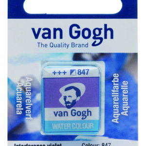 Van Gogh Akvarel 847 Interference Violet - Pan