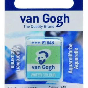Van Gogh Akvarel 848 Interference Green - Pan