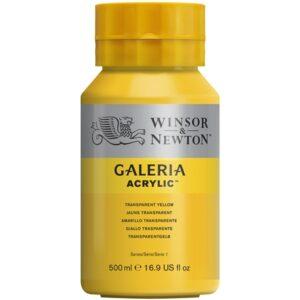 Galeria 653 Tranparent Yellow - 500 ml