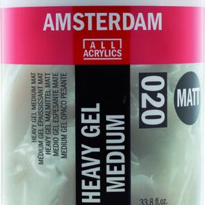 Ams Gel Medium Heavy Matt - 1000 ml