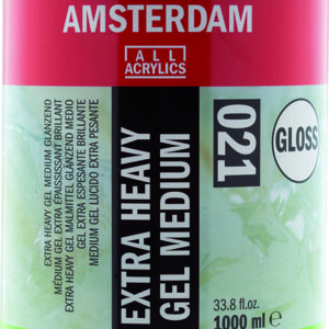 Ams Gel Medium Extra Heavy Gloss - 1000 ml