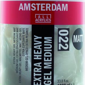 Ams Gel Medium Extra Heavy Matt - 1000 ml