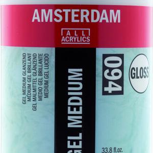Ams Gel Medium Gloss - 1000 ml