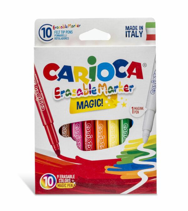 Carioca trylletuscher - slettetuscher (10 stk.)