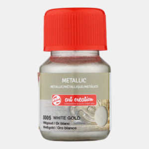 Art Creation Metallic White Gold 30 ml