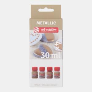 Art Creation Metallic Basic Set 4 x 30 ml