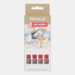 Art Creation Metallic Speciel Set 4 x 30 ml