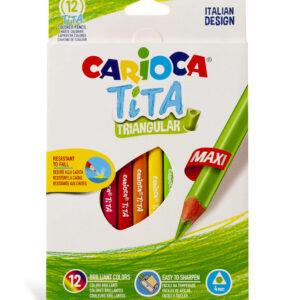 Carioca Trekantede Tita (12 blyanter)