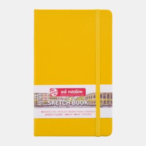 Art Creation Skitse Golden Yellow bog A5 - 140g