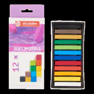 Talens Art Creation Soft Pastels - 12 pcs