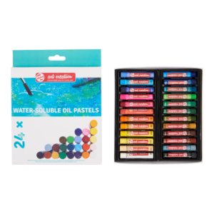 Talens Art Creation Water-Soluble Oil Pastels - 24 pcs