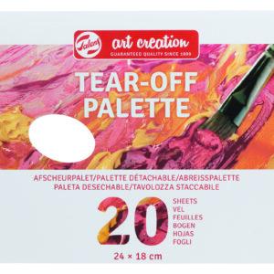Art Cre Afrivnings Paletter 18x24 cm - 20 stk