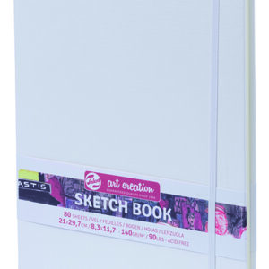 Art Creation Skitse Hvid bog A4 - 140g