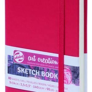 Art Creation Skitse Rød bog A6 - 140g