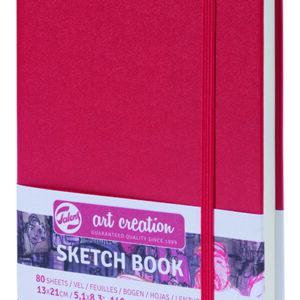 Art Creation Skitse Rød bog A5 - 140g