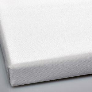 Fin bomuld lærred velegnet til akvarel og protræt - 210 cm bred og 10 meter i længden