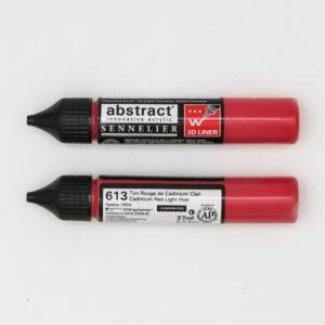 Sennelier Abstract Marker 3D liner 613 Cadmium Red Light Hue 27ml