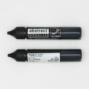 Sennelier Abstract Marker 3D liner 759 Mars Black 27ml