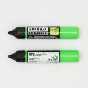 Sennelier Abstract Marker 3D liner 895 Fluo Green 27ml