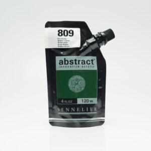 Sennelier Abstract Akrylfarve 809 Hooker`s Green 120 ml