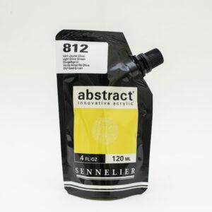Sennelier Abstract Akrylfarve 812 Light Olive Green 120 ml