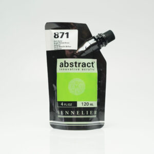 Sennelier Abstract Akrylfarve 871 Bright Yellow Green 120 ml