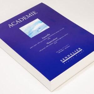 """Sennelier Akvarel blok """"Academie"""" 24 x 32 cm -100 sheets"""
