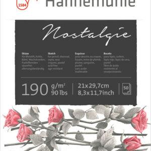 Hahnemühle Nostalgie Skitseblok 190g A4