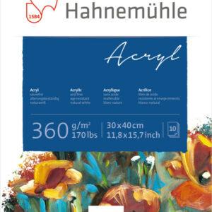 Hahnemühle Acrylic block 360g 30x40 cm