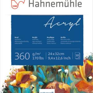 Hahnemühle Acrylic block 360g 24x32 cm