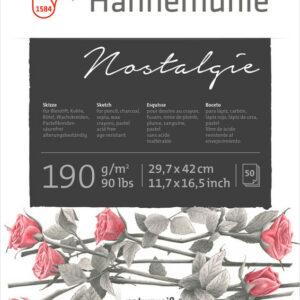 Hahnemühle Nostalgie Skitseblok 190g A3