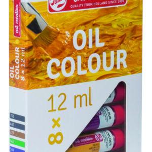 Talens Art Creation Olie Farvesæt m/8 tuber á 12 ml