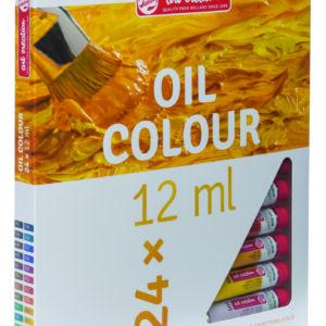 Talens Art Creation Olie Farvesæt m/24 tuber á 12 ml