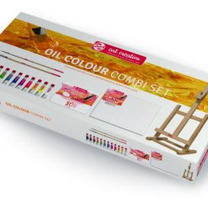 Talens Art Creation Olie startersæt m/12 tuber á 12 ml mm.