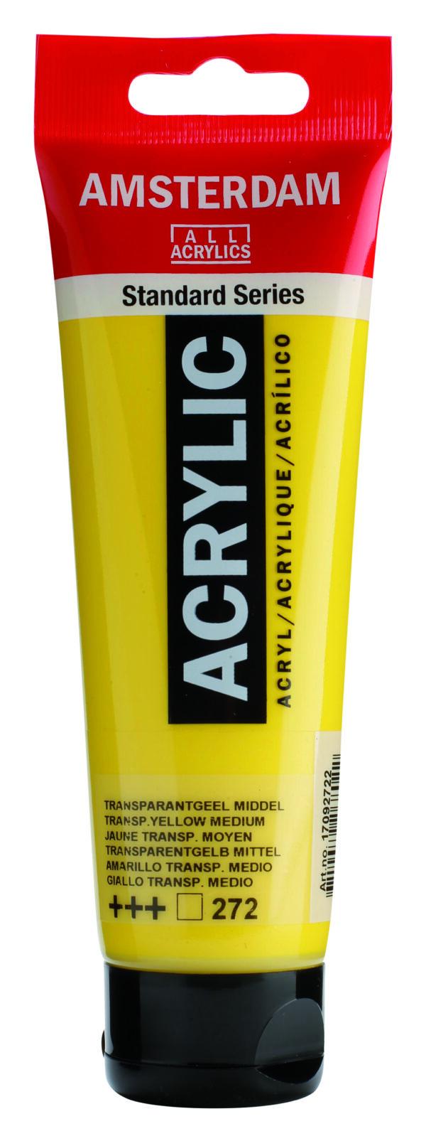 Ams std 272 Transparent yellow Medium - 120 ml