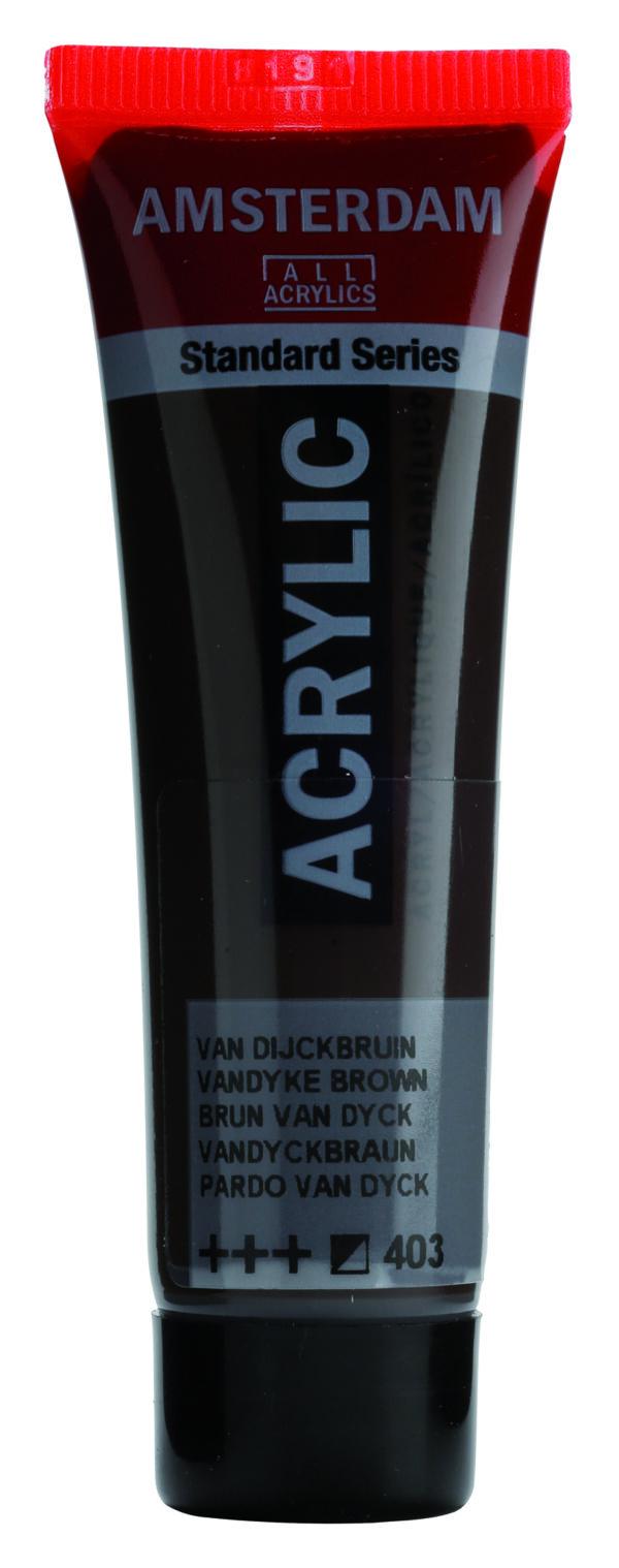 Ams std 403 Vandyke brown - 20 ml