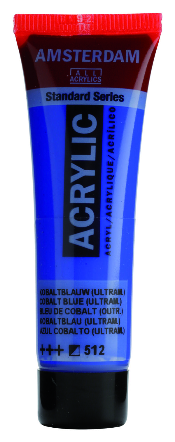 Ams std 512 Cobalt blue (ultramarine) - 20 ml