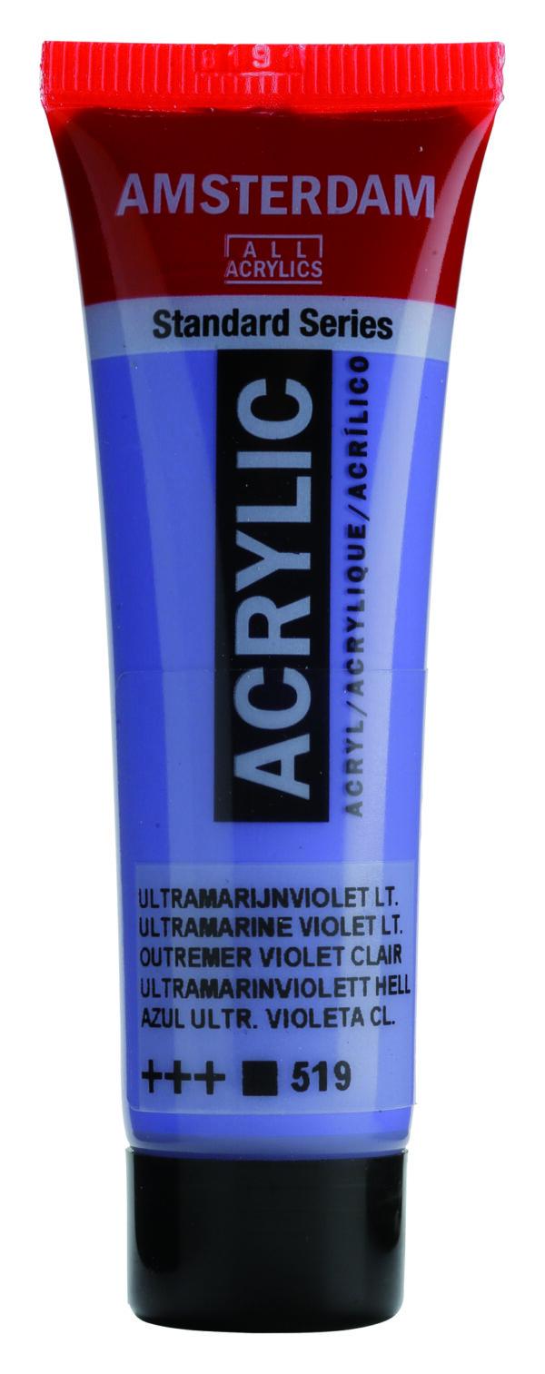 Ams std 519 Ultramarine violet Light - 20 ml