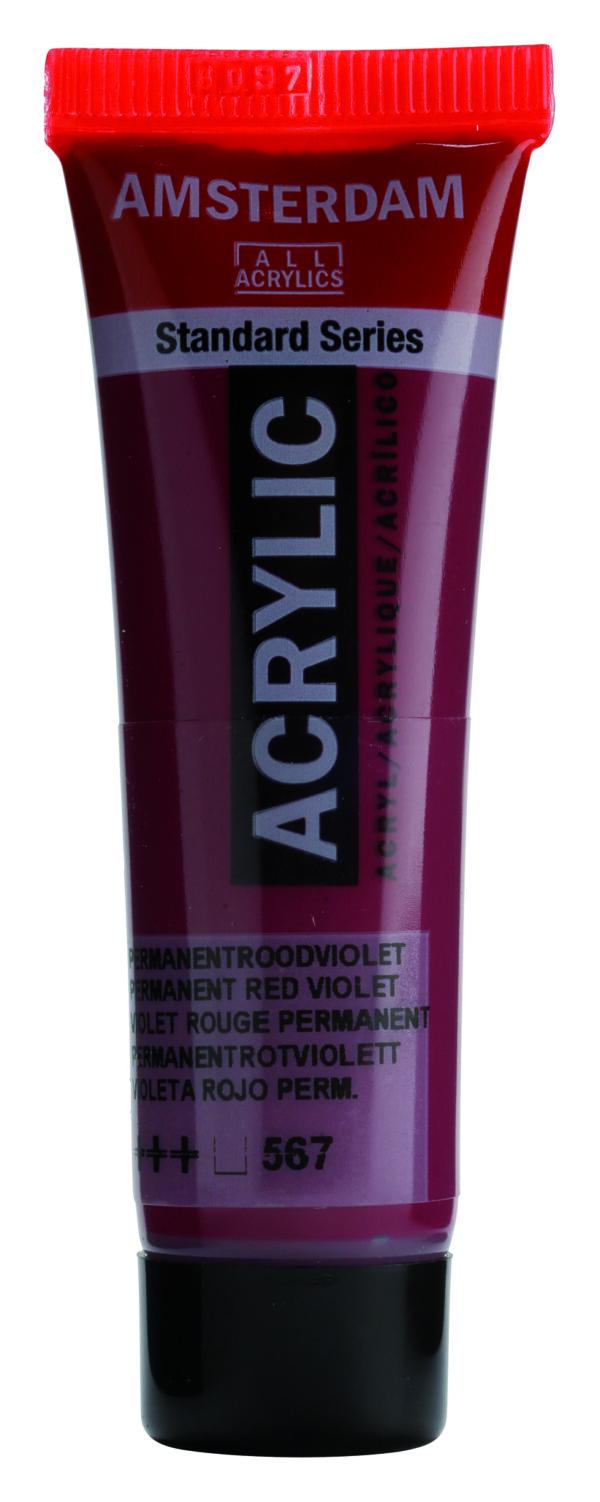 Ams std 567 Permanent red violet - 20 ml