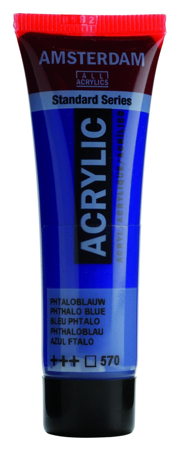 Ams std 570 Phthalo blue - 20 ml
