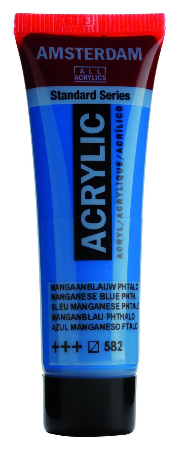Ams std 582 Mangan. Blue phthalo - 20 ml