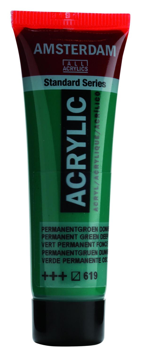 Ams std 619 Permanent green Deep - 20 ml